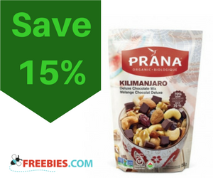 Save 15% off your 1st Purchase of PRANA Snacks