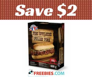 Save $2 on Olympel Pulled Pork
