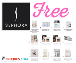 Three Free Samples From Sephora With Purchase