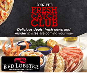 Join Red Lobster Fresh Catch Club For Free Food