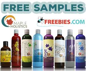 Free Sample From Maple Holistics