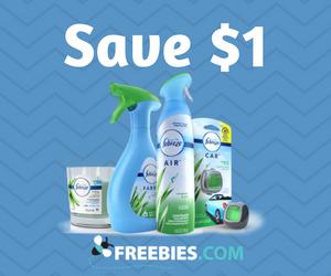 Save $1 on Febreze
