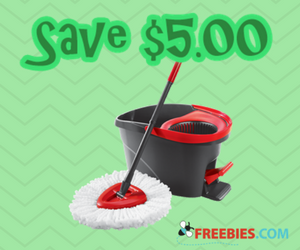 Save $5 on Vileda EasyWring Spin Mop and Bucket System