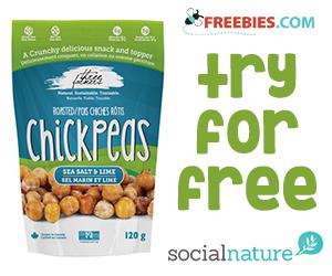 Social Nature – Free Three Farmers Roasted Chickpeas