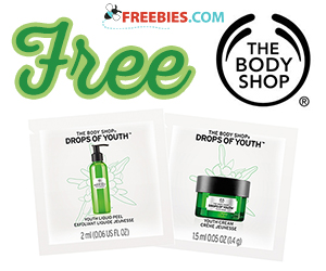 Free Samples From The Body Shop