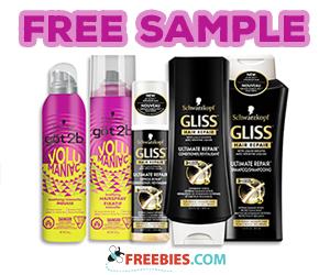 Chick Advisor – Free Schwarzkopf Gliss & göt2b Hair Products