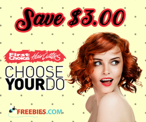 Get $3 off any Hair Cut at First Choice Hair Cutters