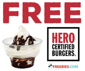 Get Free Food from Hero Burgers