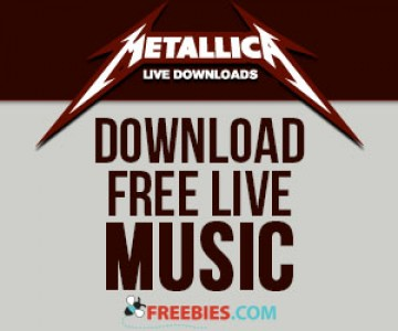 Download: Metallica LIVE Music