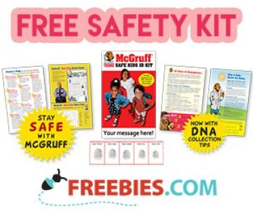 Free McGruff Safety Kit