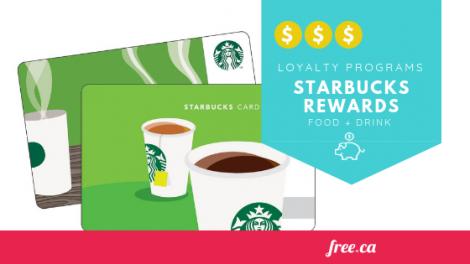canadian loyalty programs starbucks rewards