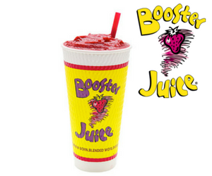 Free Booster Juice Smoothie