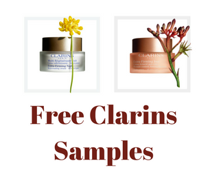Free Clarins Skincare Products