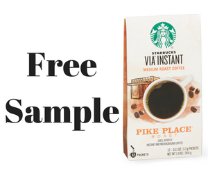 Free Starbucks Instant Coffee