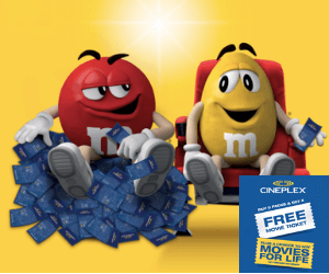 Free Cineplex Movie Passes