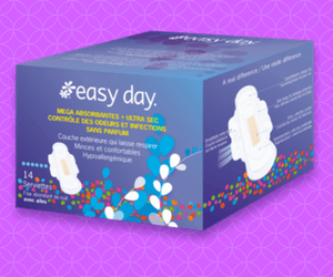 Free Easy Day Pads and Liners