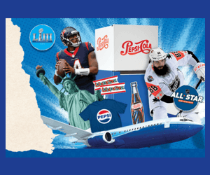 Win Great Prizes from Pepsi