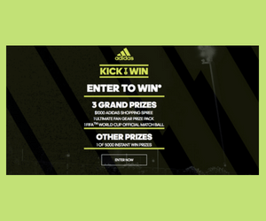 Win a $1,000 Adidas Shopping Spree