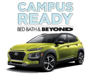 Win a Hyundai Kona & More from Bed Bath & Beyond