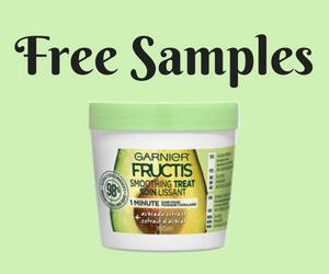 Free Garnier Fructis Hair Mask