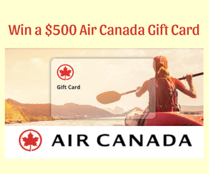 Win a $500 Air Canada Gift Card
