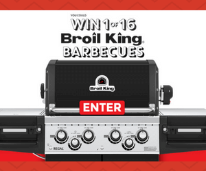 Win 1 of 16 Broil King BBQs