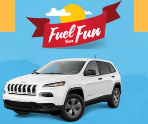 Win a Free Jeep Cherokee Sport