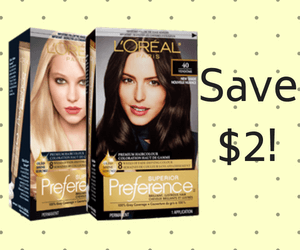 L'Oréal Coupon: Save $2 On Superior Preference