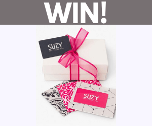 Win 2 Free $125 Suzy Shier Gift Cards