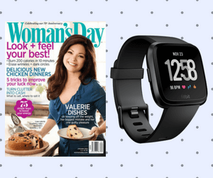 Free Woman's Day Magazine + Win a Fitbit!