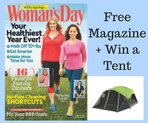 Free Woman's Day Magazine + Win a Tent!
