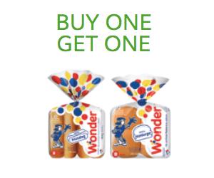 BOGO Free Wonder Bread Buns
