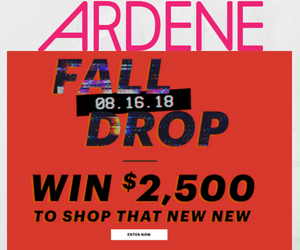 Win a $2,500 Ardene Gift Card