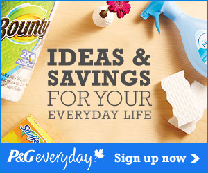Free Samples and Coupons from P&G Everyday!