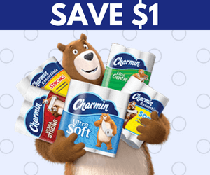 $1 Off Charmin Toilet Paper