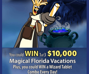 Win a $10,000 Florida Vacation from Cheese Strings