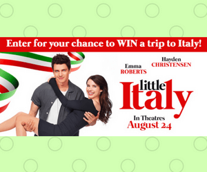 Win a Trip to Italy from Cineplex