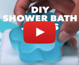 DIY Shower Bath Jellies