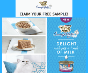 Free Fancy Feast Creamy Delights