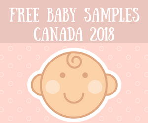 Free Baby Samples Canada 2018