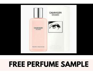 Free Calvin Klein Perfume Sample!