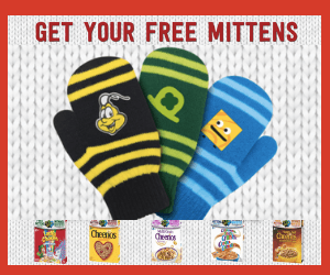 Free Mittens from General Mills!