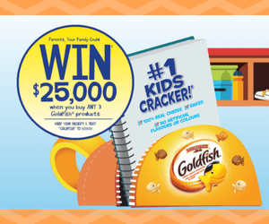 Win $25,000 Cash from Goldfish