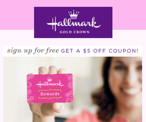 $5 Off Hallmark Coupon