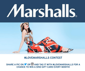 Win a $150 Marshalls Gift Card