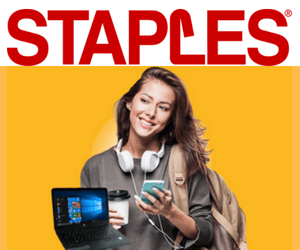 Win the Staples Microsoft A+ Contest