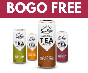 BOGO Free SunRype Sparkling Tea