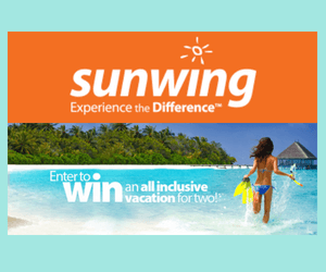 Win an All-Inclusive Trip for 2 from Sunwing!