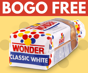 BOGO Free Wonder Bread