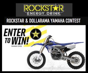 Win a Yamaha YZ450 Motocross Bike